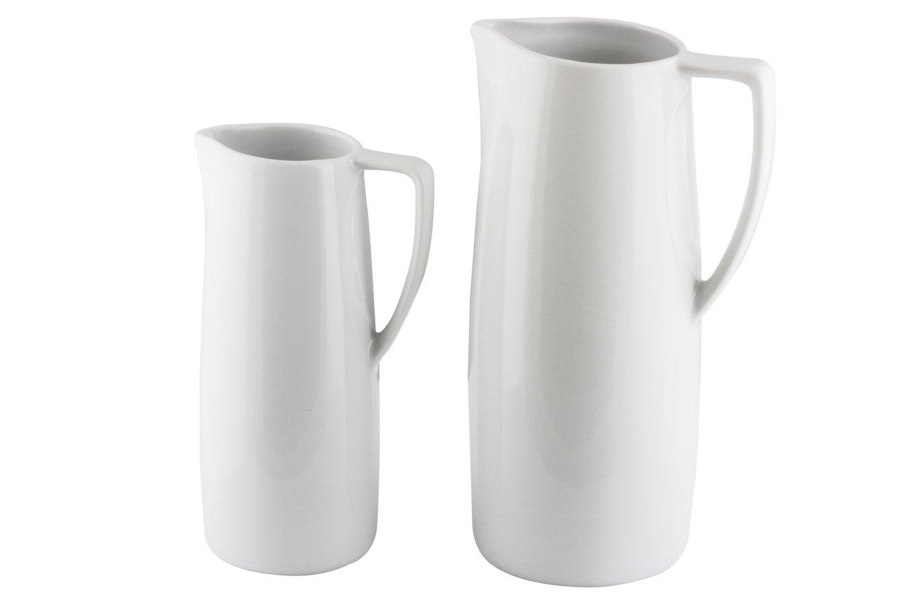 10 jarra leche loza medio y litro hostel servis valencia for Jarra leche