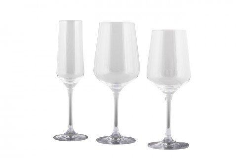 2. Copa cava agua tinto y vino blanco