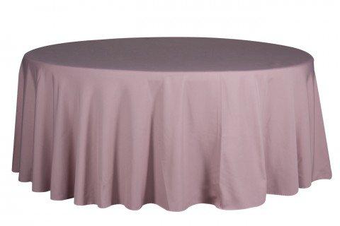 1.5 Mantel redondo rosa
