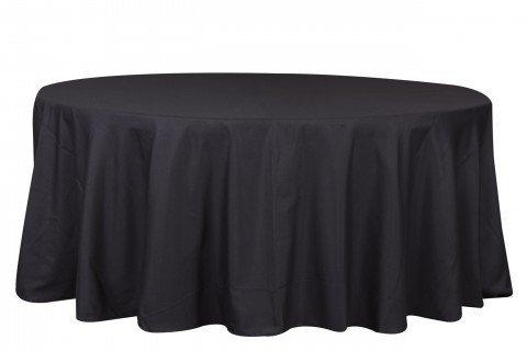 1.8 Mantel negro redondo