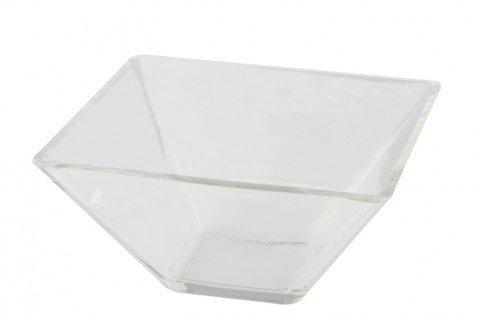 Bol cuadrado cristal 14×14