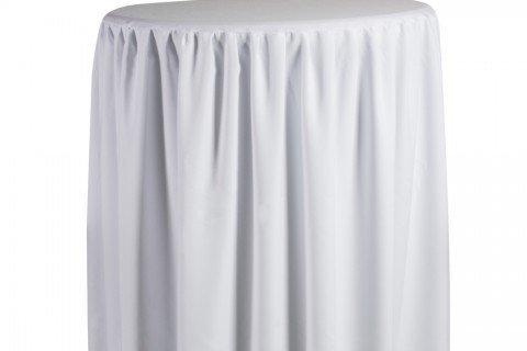 23. Mesa alta aperitivo capsula blanca