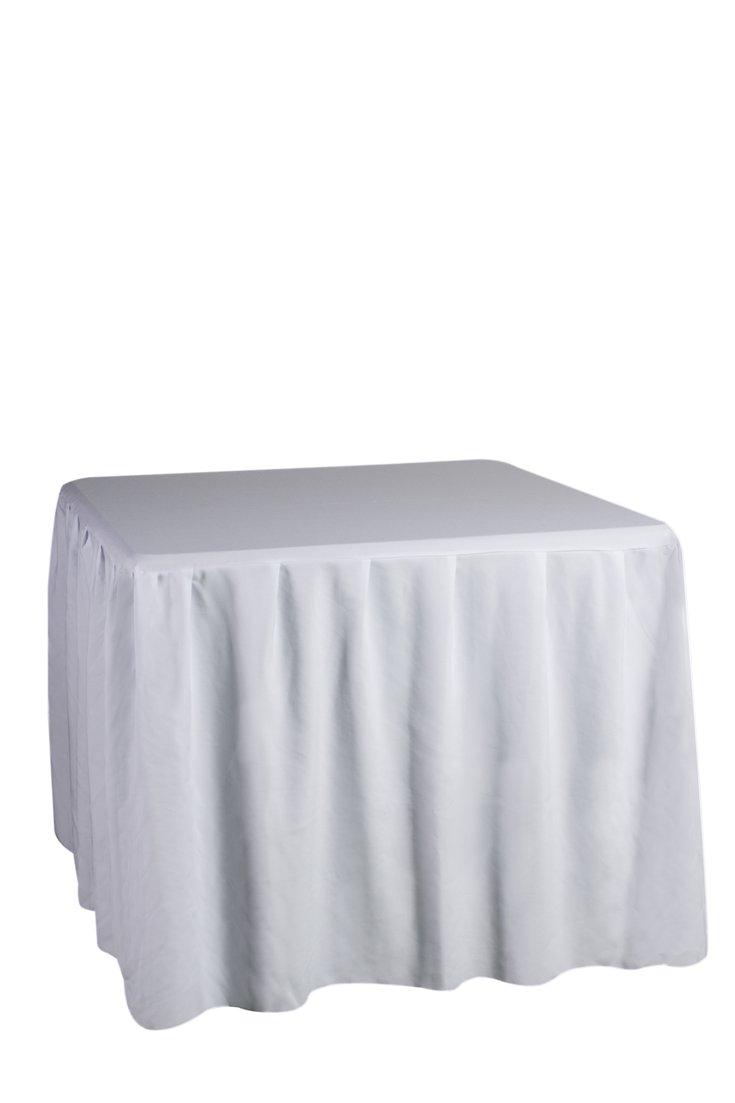 mesa 90x90 capsula blanca