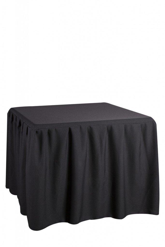 mesa 90x90 capsula negra