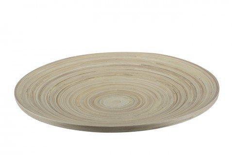 Plato madera 30cm