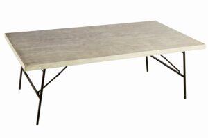 Mesa madera rectangular 2.20x1.20
