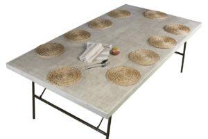 montaje mesa bajoplato